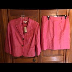 Ann Taylor Loft suit.  NWT.  Size 10 Petite.